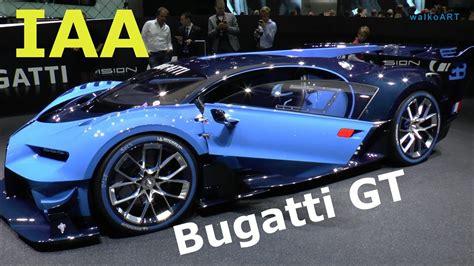 Bugatti Vision Gt For Sale by Bugatti Vision Gt Gran Turismo Chiron W16 Studie Iaa