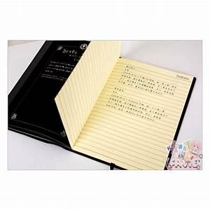 Cahier De Note : cosplay death note light cahier livre death note light cosplay notebook ~ Teatrodelosmanantiales.com Idées de Décoration