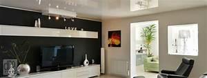 deco design plafond concessionnaire plafond tendu With idees pour la maison 11 photos de plafond tendu dans votre piscine