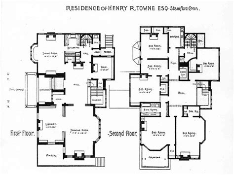 house plans historic historic house floor plan in