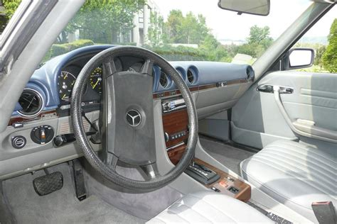 The carpet is also in great shape with no holes or stains. 1983 MERCEDES-BENZ 380SL CONVERTIBLE - 108893