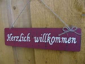 Türschild Herzlich Willkommen : t rschild willkommen ~ Sanjose-hotels-ca.com Haus und Dekorationen