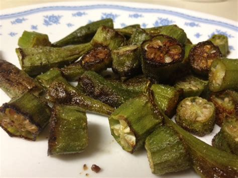how to cook okra on the stove oven roasted okra recipe