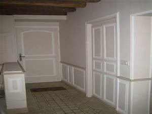 renovation et peinture hall entree couloir sur le mans With peinture entree et couloir