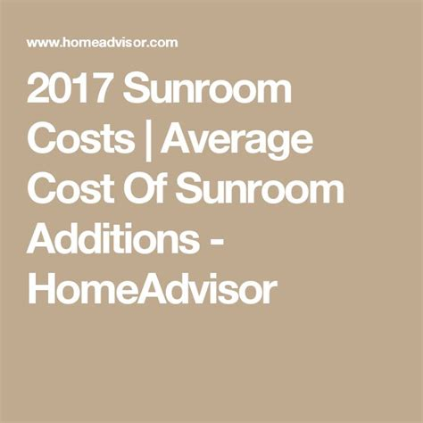 Cost Of Sunroom by Best 25 Sunroom Cost Ideas On Deck Addition