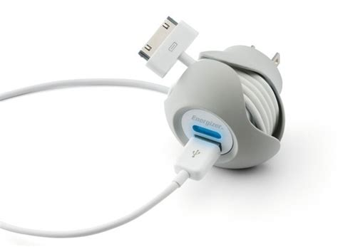 new iphone charger energizer introduces new wrap around iphone chargers mac