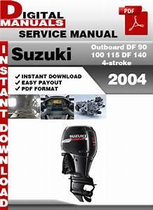 Suzuki Outboard Df 90 100 115 Df 140 4
