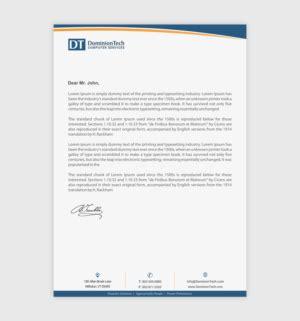 letterhead design custom letterhead design service
