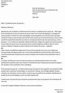 Lettre De Motivation écrite Ou Ordi : lettre de motivation pour un premier emploi un exemple gratuit ~ Medecine-chirurgie-esthetiques.com Avis de Voitures