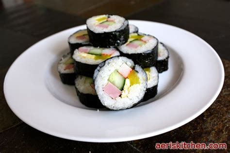 how to make kimbap korean kimbap singapore images