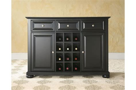 Alexandria Buffet Server / Sideboard Cabinet With Wine