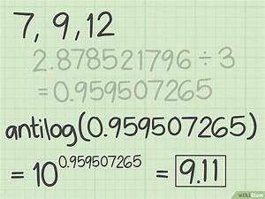 Logarithmus Berechnen : geometrisches mittel berechnen wikihow ~ Themetempest.com Abrechnung