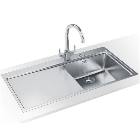 franke sink x 8 franke mythos mmx 211 dp stainless steel left drainer sink
