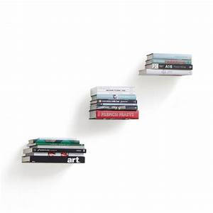 Conceal Small Floating Shelf  Set Of 3  Silver