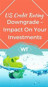 US Credit Rating Downgrade - Impact on your Investments