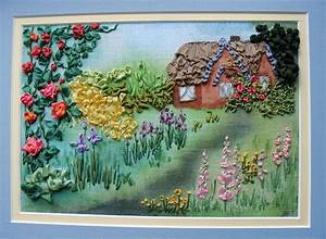 Hidden House Ribbon Embroidery Kit