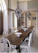 Old Refectory Table Swedish Styled Chairs And Exotic Lanterns I Roll Back Upholstered Arm Chair Dining Room Chairs Kitchen Wall Bed Space Saving Furniture With Built In Cabi And Shelves Murphy Contemporary Side Tables And Accent