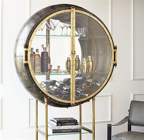 diy liquor cabinet spectacular porthole bar in glamorized steunk style