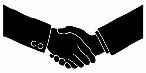 Hand In Hand Shake Vector - ClipArt Best