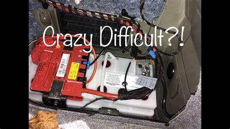 bmw e90 batterie changing a bmw e90 battery isn t easy