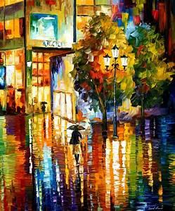 Modern impressionism palette knife oil painting kp15089 ...