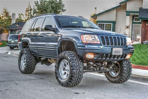 jeep grand wj 2000 jeep grand wj rockkrawler 6 5 quot lift 2 quot front spacers 36x13 5x17 irok radials