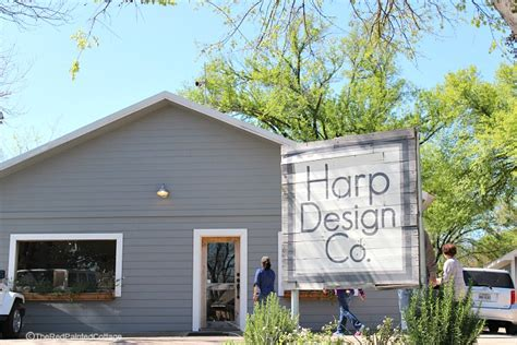 harp design company our visit to harp design co in waco the painted cottage