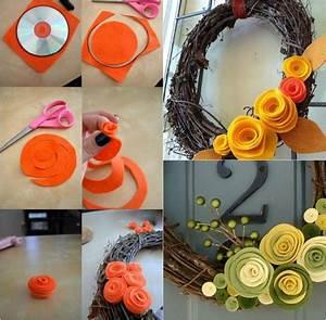 Decoration Halloween Maison : bricolage maison facile en 60 id es de d coration automnale felting natal and craft ~ Voncanada.com Idées de Décoration