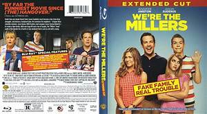 We're The Millers blu-ray cover & labels (2013) R1
