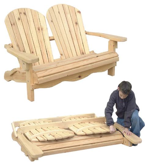 loveseat plans outdoor furniture folding adirondack loveseat workshop