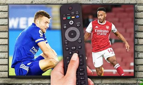 What TV channel is Leicester City v Arsenal in the Carabao ...
