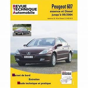 607 V6 Essence : revue technique peugeot 607 ess et diesel rta b708 9782726870853 ~ Medecine-chirurgie-esthetiques.com Avis de Voitures