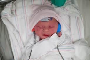 Cute Newborn Baby Girl Hospital