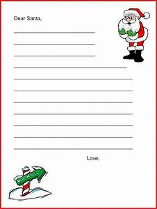 20 free printable letters to santa templates dear santa With downloadable santa letters