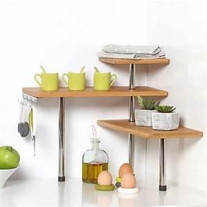 étagère En Verre Ikea : etagere d 39 angle en verre salle de bain ~ Teatrodelosmanantiales.com Idées de Décoration
