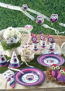 Deko Für Kindergeburtstag : kindergeburtstags deko mit eulen baby belly party blog ~ Frokenaadalensverden.com Haus und Dekorationen