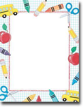 imprintable blank stock school stuff letterhead