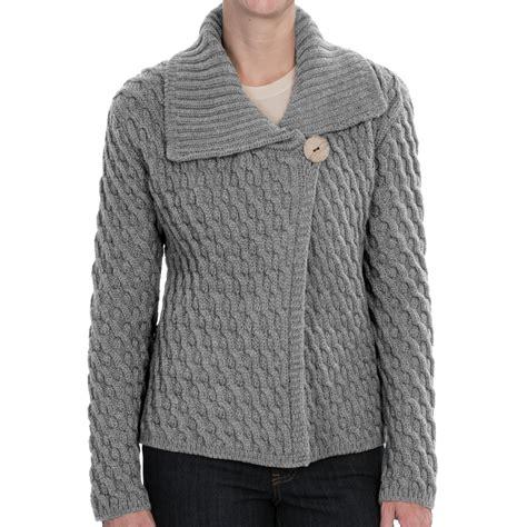 merino wool sweater womens peregrine by j g crossover cardigan sweater