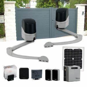 Motorisation Portail Battant Pas Cher : nice motorisation portail 2 battants popkit solaire ~ Melissatoandfro.com Idées de Décoration