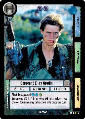 sergeant elias grodin official fight klub wiki fandom