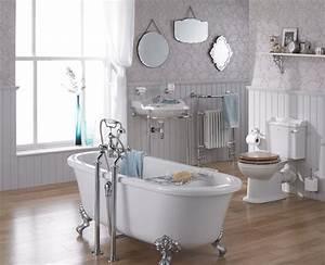Salle de bain retro 16 modeles au charme de lancien for Salle de bain design avec décoration années folles