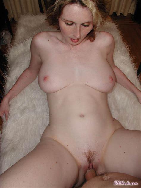 Redhead Milf Elli Nude With Big Naturals Wearing Wedding