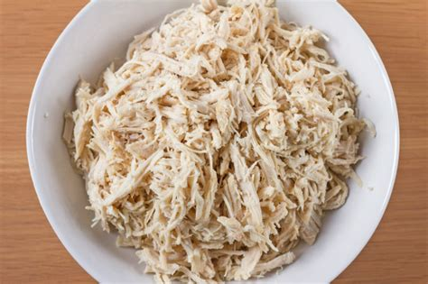 how do you boil chicken for shredding crock pot shredded chicken breasts for freezing oamc recipe food com