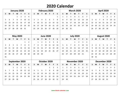 yearly calendar     print