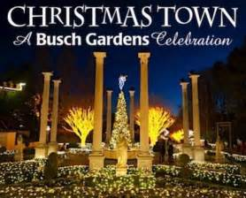 Christmas Town Busch Gardens Williamsburg VA