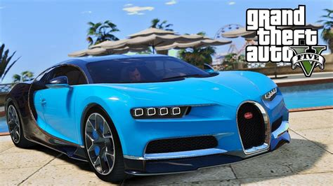 Looks great in the game. GTA 5 - PC MODS - BUGATTI CHIRON - YouTube