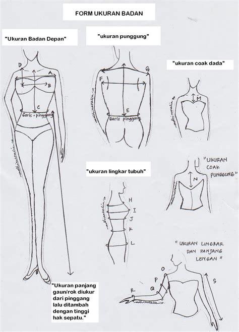 Berdirilah secara tegak & buanglah napas dengan lembut dan pelan saat anda mulai mengukur. Halak Hita Fashion: Cara Mengukur Badan Untuk Menjahit