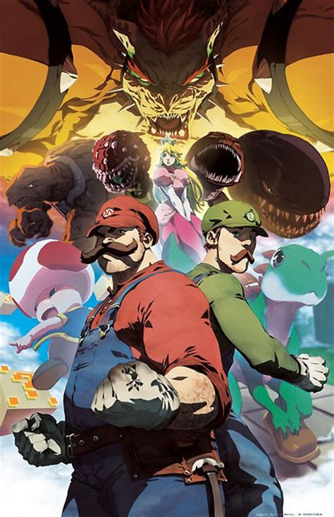7 Amazing Examples Of Super Mario Bros Fan Art Techeblog