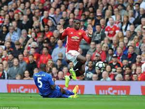 Manchester United 4 1 Leicester City Goals From Chris