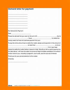 Payment Slip Template 5 Demand Letter For Money Owed Sales Slip Template